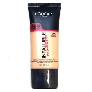 L'Oréal Infallible Pro-Matte Foundation #105